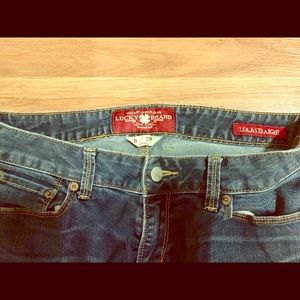 Lucky Brand Straight Legged Jeans